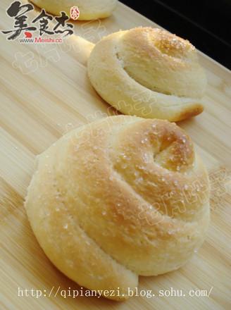 椰丝白糖小面包的做法