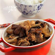 臻蘑粉条炖鸡