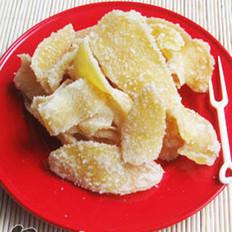 自制姜糖片