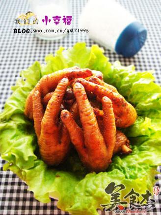 香辣豆豉鸡脚的做法