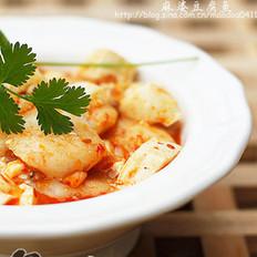 麻婆豆腐鱼