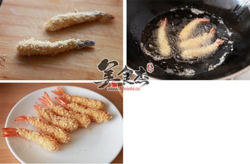 面包炸虾的简单做法