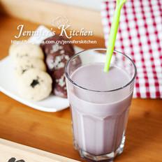 紫薯豆奶的做法大全