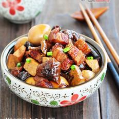 豆干蘑菇小炖肉