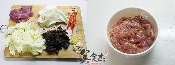白菜猪肉炒木耳的做法大全
