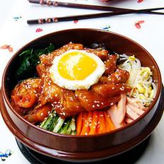 韩式烧肉拌饭