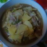 土豆片炖白菜
