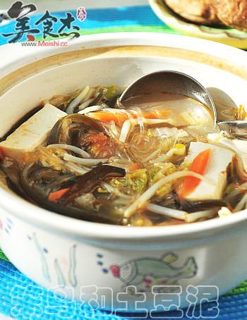 什锦素砂锅的做法图解