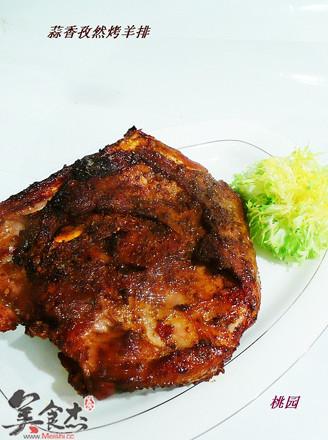 蒜香孜然烤羊排的做法