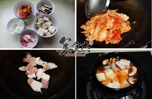 韩式豆腐锅的做法图解