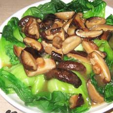 香菇扒油菜的做法大全