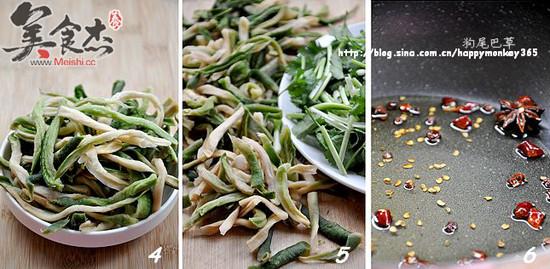香菜椒油萝卜干的家常做法