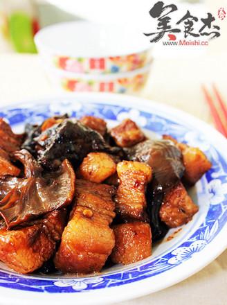 茶树菇炖花肉的做法