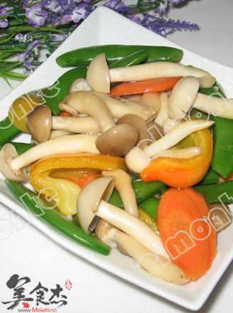 五彩蘑菇的做法
