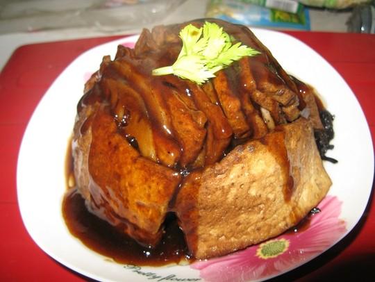 素·梅干菜扣肉怎么做