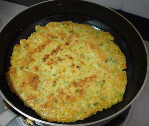 南瓜鸡蛋煎饼怎么做