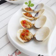 蒜酱腌白蛤