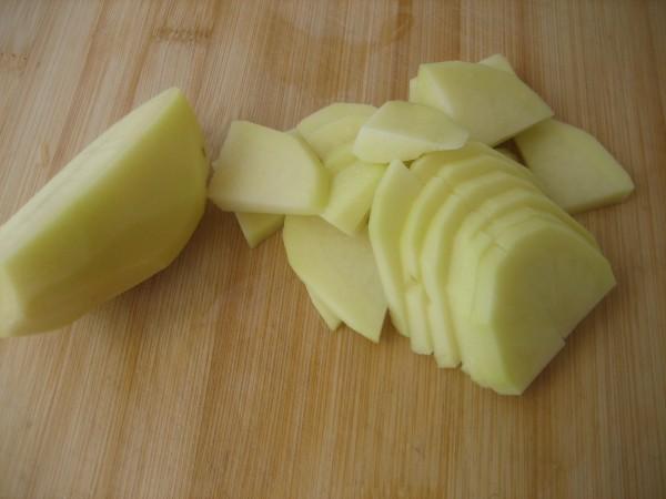 角瓜土豆片的做法【步骤图】_菜谱_美食杰