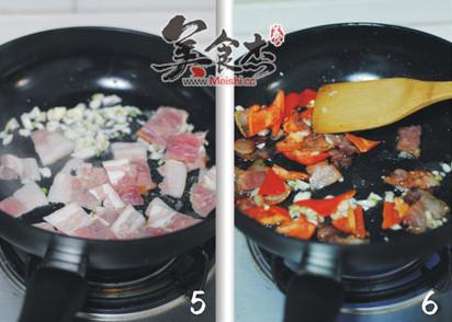 蒜香培根炒荷兰豆的家常做法