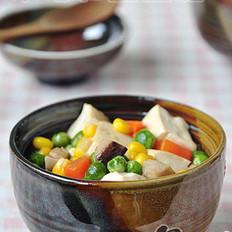 家常五彩豆腐