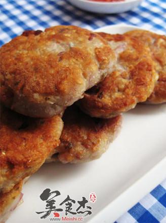 香芋鲮鱼饼的做法