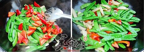 杏鲍菇炒荷兰豆的简单做法