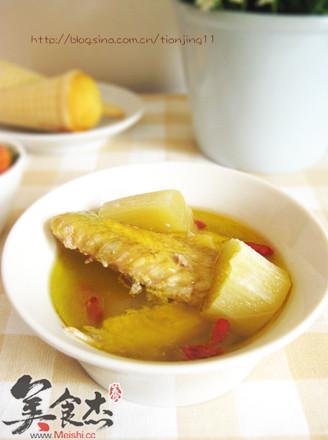 甘蔗鸡汤的做法