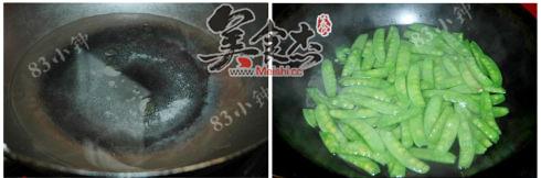 腊肠炒荷兰豆的做法大全