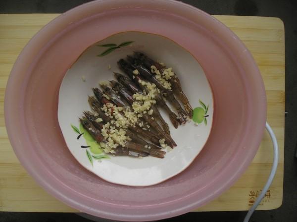 蒜蓉蒸基围虾的家常做法