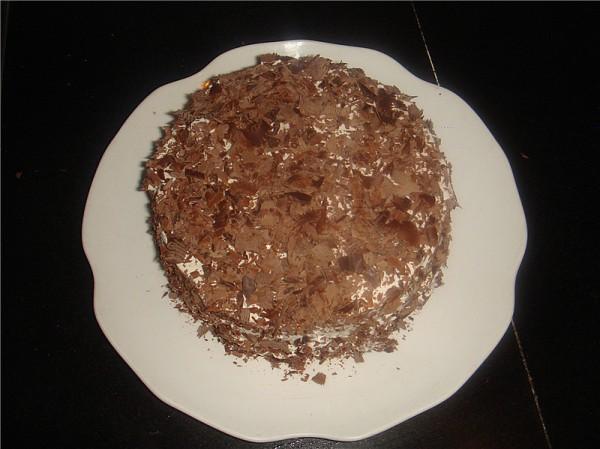 巧克力屑奶油蛋糕怎样煸