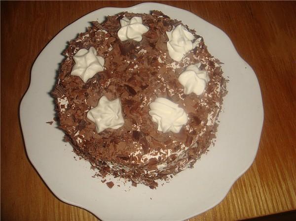 巧克力屑奶油蛋糕怎样做