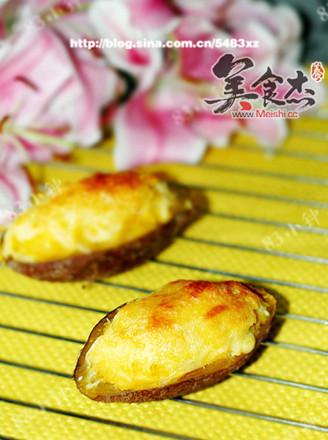芝士焗紅薯的做法