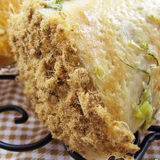 海苔肉松面包卷
