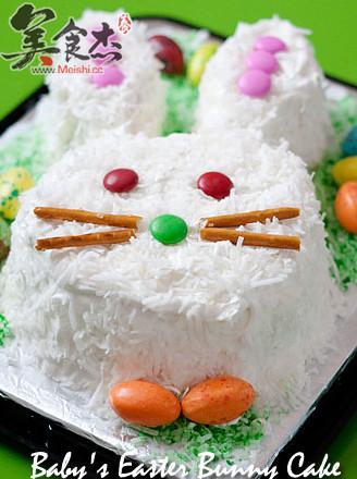 小兔蛋糕的做法