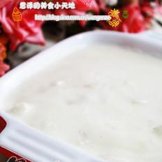 鸡肉蘑菇奶油浓汤