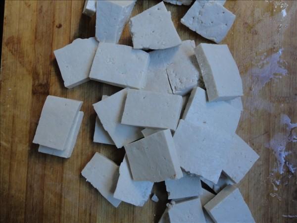 黄豆芽炒豆腐的做法图解