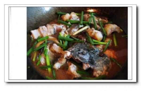 酱烧黑鱼的简单做法