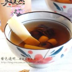 罗汉果甘蔗蜂蜜甜水