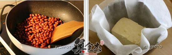 香煎花生豆腐饼的做法大全