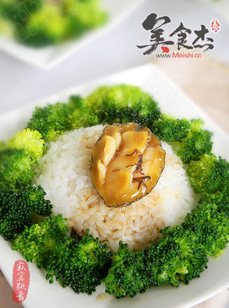 鲍鱼捞饭的做法