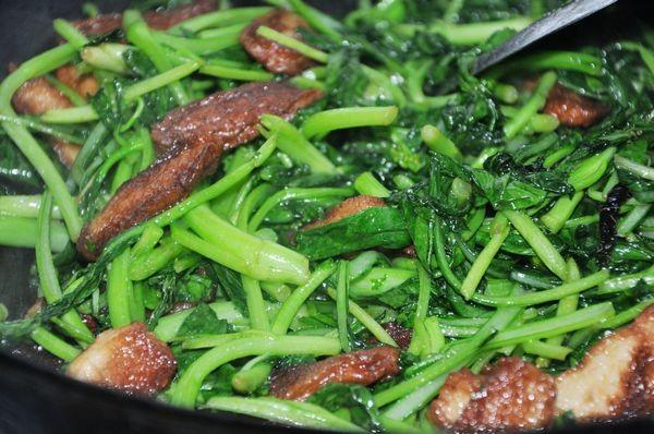 鱼豆腐炒菜心怎么做