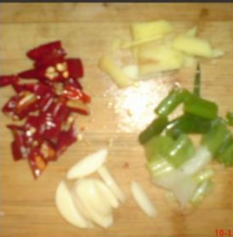 大头菜炒瘦肉的做法图解