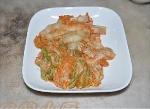 辣白菜烧五花肉的做法图解