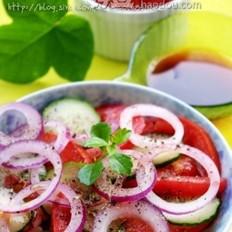 番茄鲜蔬沙拉
