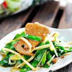 韭菜炒猪肝的做法大全