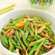 扁豆炒肉丝的做法大全