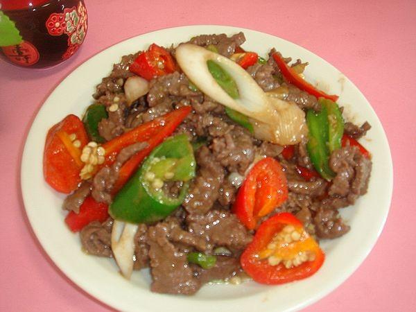 辣椒炒牛肉怎么煮