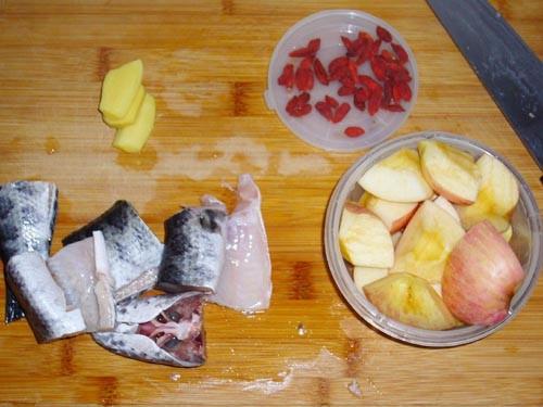 苹果生鱼汤的做法图解