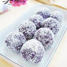 紫薯椰蓉球