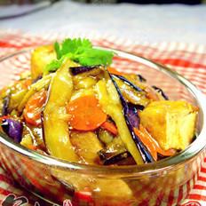 鱼香茄子豆腐煲